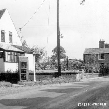 Stretton under Fosse.  Village scene