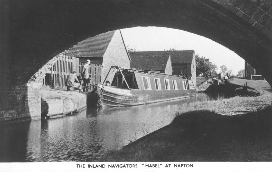 The pleasure narrow boat,