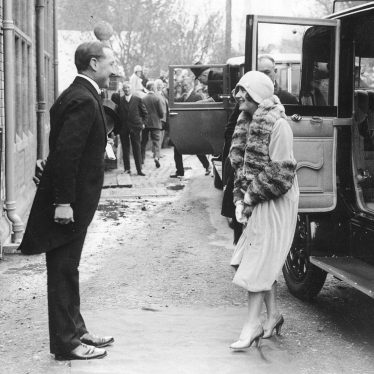 Rugby.  Duchess of York at St Cross Hospital