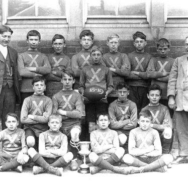 Rugby.  Boys rugby team
