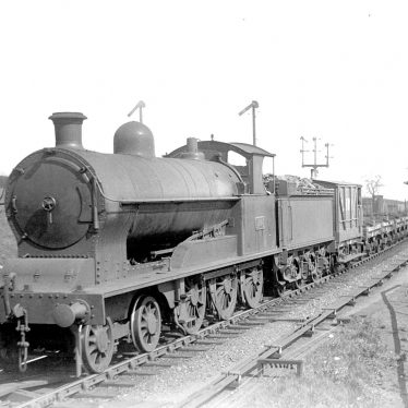 Rugby.  London and North Western Railway goods train