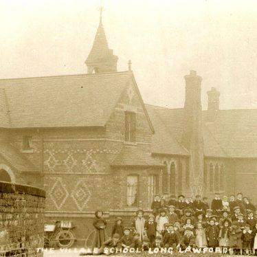 Long Lawford.  Village school