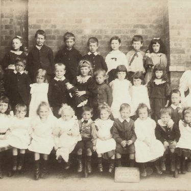 Long Lawford.  School Infants Class