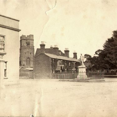 Dunchurch.  Square, Lord John Scott Memorial