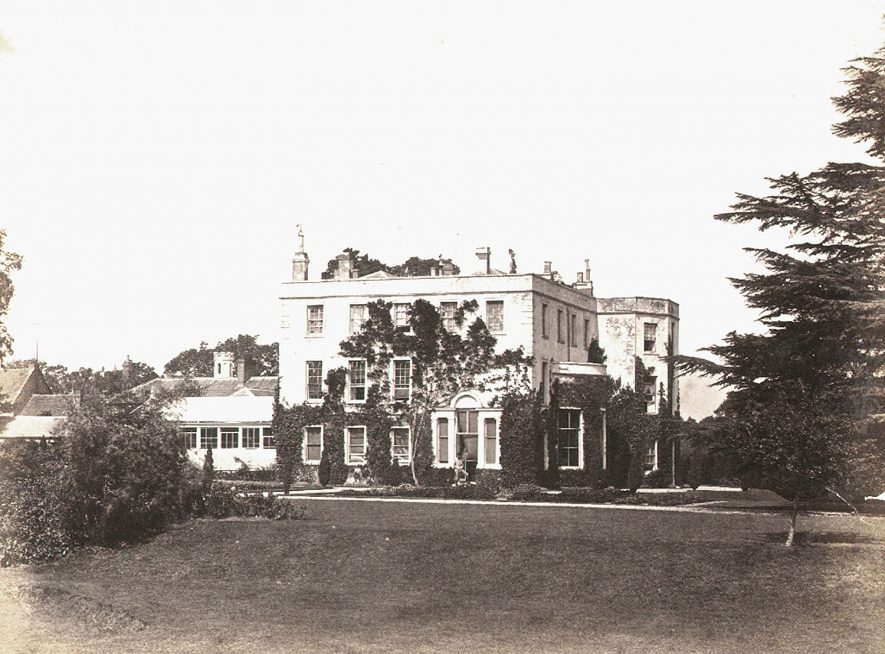 Coton House, Churchover. 1900s |  IMAGE LOCATION: (Rugby Library)