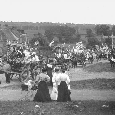 Napton on the Hill.  Coronation celebrations