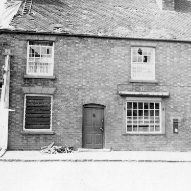 Ryton on Dunsmore.  Air raid damage