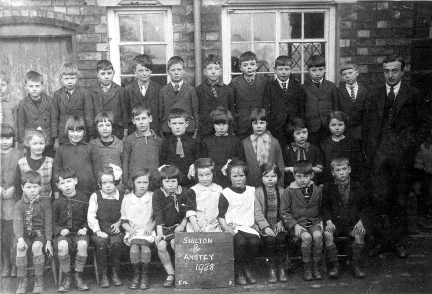 Shilton and Anstey school class photograph.  1928 |  IMAGE LOCATION: (Rugby Library)