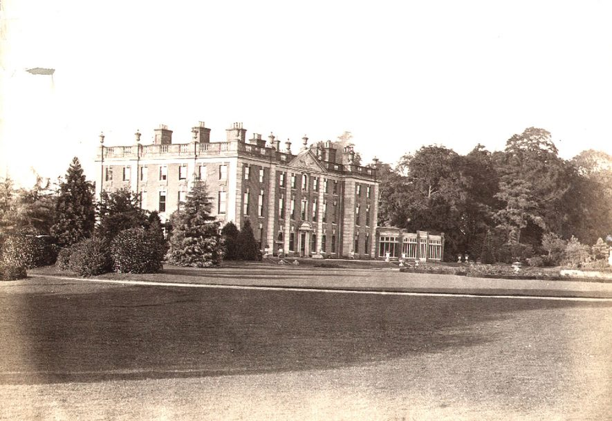 Newbold Revel, built by Sir Fulwar Skipwith, in the early 18th century, Stretton under Fosse.  1890s |  IMAGE LOCATION: (Rugby Library) PEOPLE IN PHOTO: Skipwith, Sir Fulwar, Skipwith as a surname
