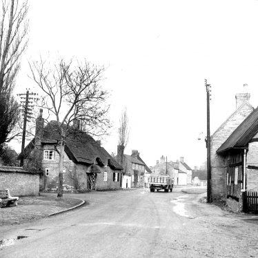Thurlaston.  Village street