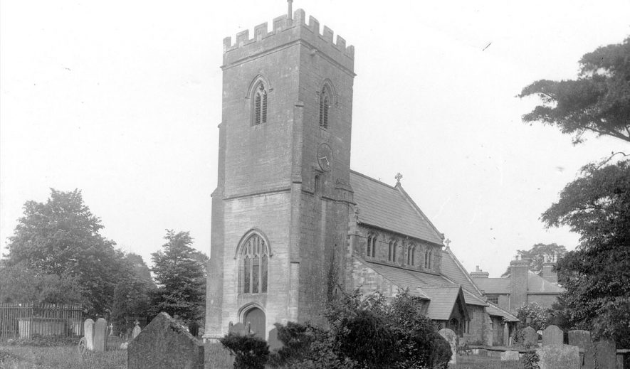 Church of St Michael, Claverdon.  c.1910 |  IMAGE LOCATION: (Warwickshire County Record Office) IMAGE DATE: (c.1910)