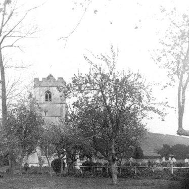 Beaudesert.  St Nicholas church