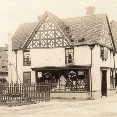 Henley in Arden.  Market cross