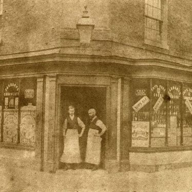 Alcester.  Whitehead's shop, High Street