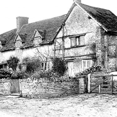 Wilmcote.  Mary Arden's cottage