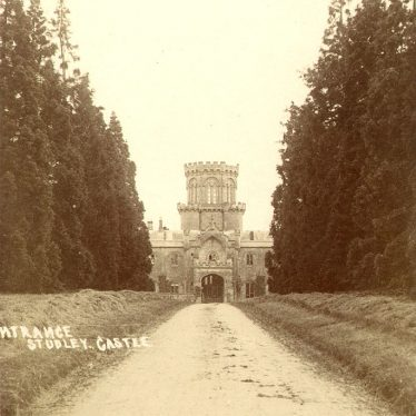 Studley.  Castle entrance