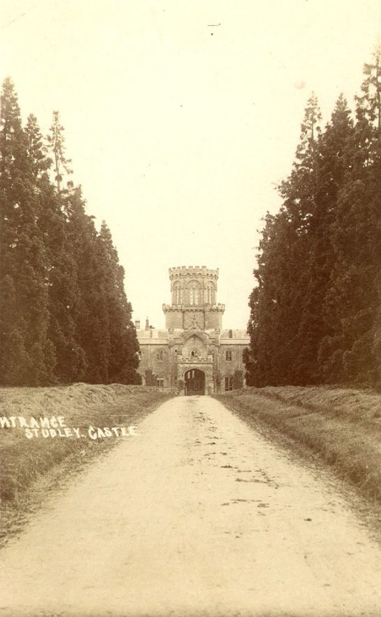 Studley castle entrance.  1900s. |  IMAGE LOCATION: (Warwickshire Museums. Photographic Collections.)