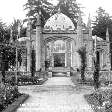 Studley.  Castle orangery