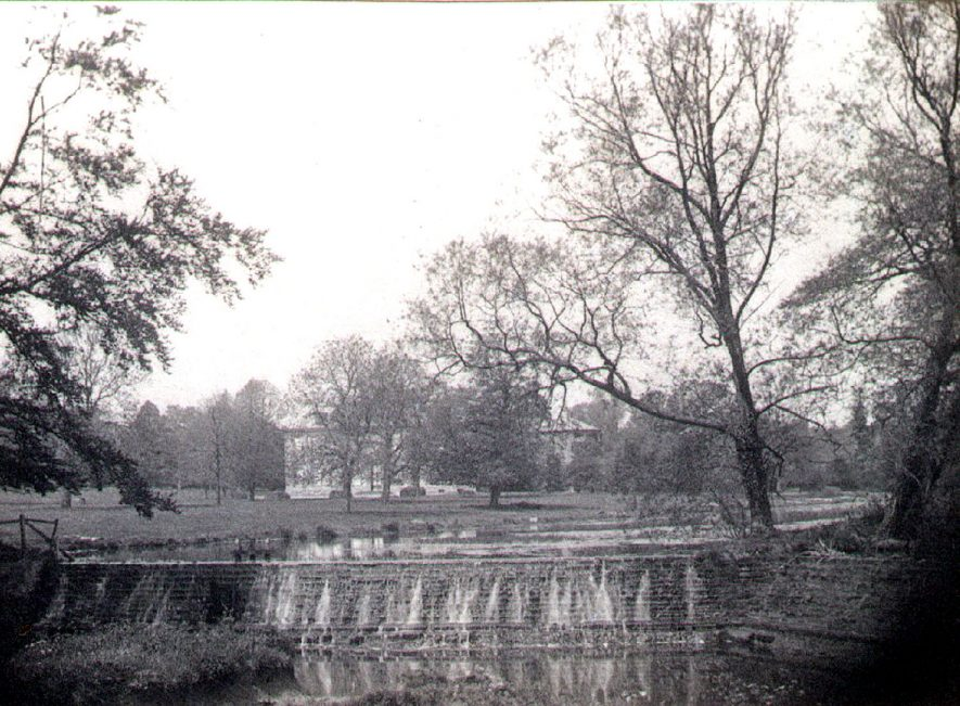 Wootton Wawen Hall and part of park. Photographed by father of Dr. E.S. Stern of Central Hospital, Hatton.  1888 |  IMAGE LOCATION: (Warwickshire Museums. Photographic Collections.)