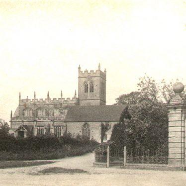 Wootton Wawen.  Parish Church