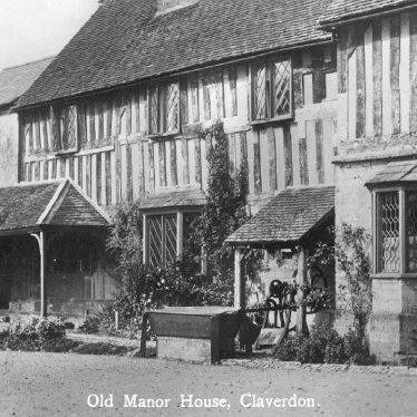 Claverdon.  Old Manor House