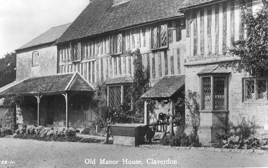 The Old Manor House, Claverdon.  1920s |  IMAGE LOCATION: (Warwickshire County Record Office)