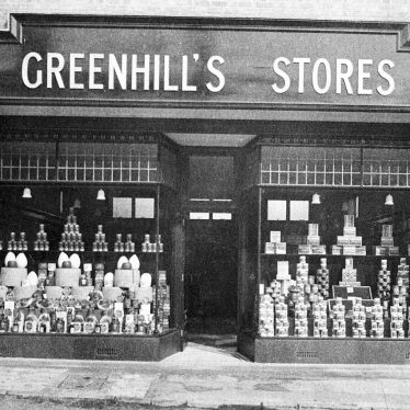 Kineton.  Greenhill's Stores