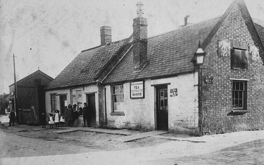 The coffee tavern, Southam Street, Kineton.  1906 |  IMAGE LOCATION: (Warwickshire Museums. Photographic Collections.)