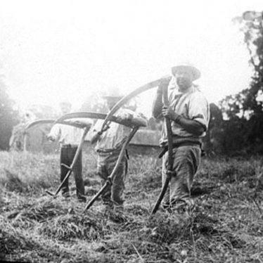 Brailes, Lower.  Farm workers