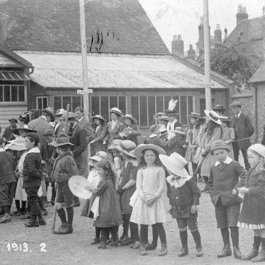 Stratford upon Avon.  Empire day celebrations