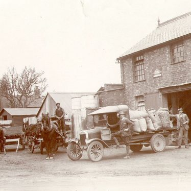 Stockton.  Kendall's coal and animal feed merchants yard