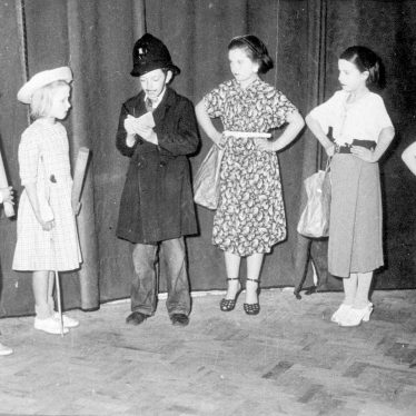 Stockton.  Children in stage production