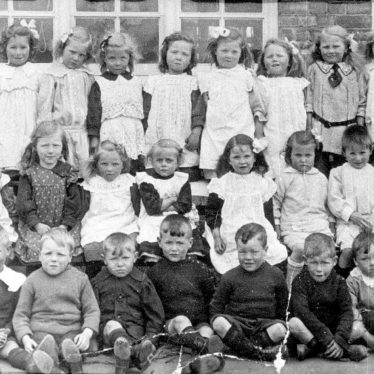 Stockton.  Group of schoolchildren