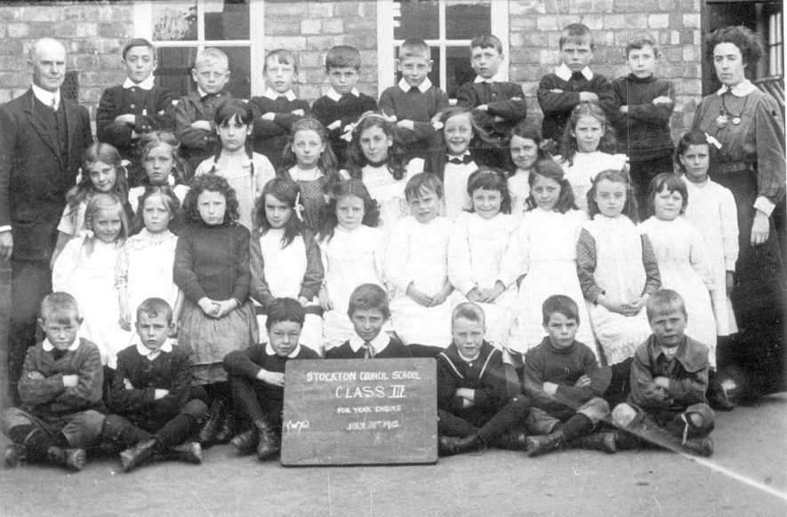 Class III at Stockton council school.  1912 |  IMAGE LOCATION: (Warwickshire Museums. Photographic Collections.)