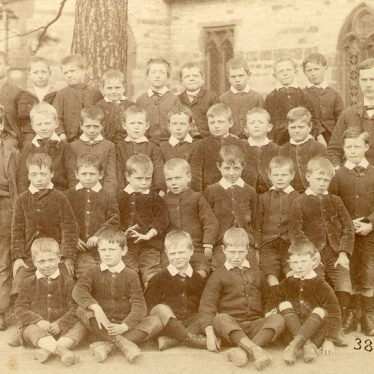 Stockton.  School class group