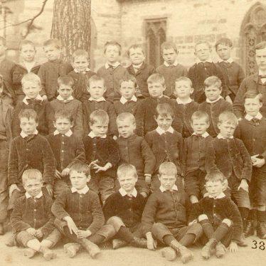 Stockton.  School class group