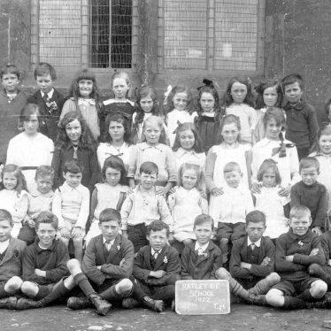 Ratley.  Church of England school pupils