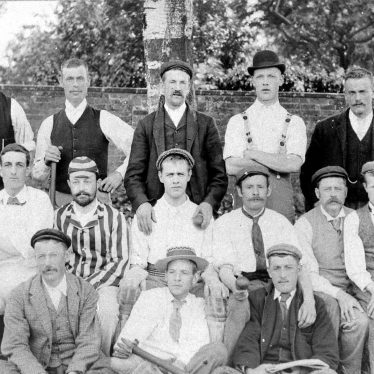 Long Itchington.  Cricket Club members