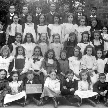 Harbury.  Wight School pupils