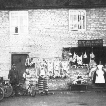 Harbury.  G T Alcock, butchers