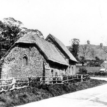 North End.  Priest's house and chapel