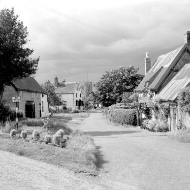 Bubbenhall.  Village view