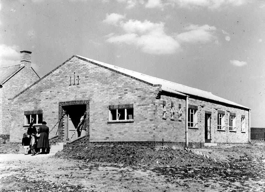 Blackwell village hall.  May 1952 |  IMAGE LOCATION: (Warwickshire County Record Office)