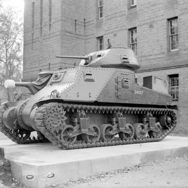 Budbrooke.  Lord Montgomery's tank