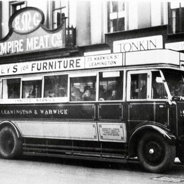 Leamington Spa.  Motor Bus