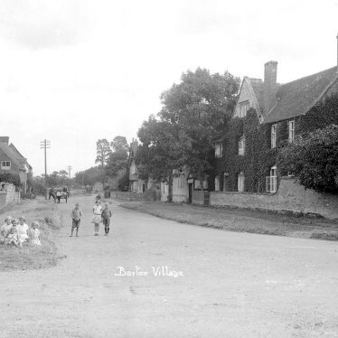Barton.  Village street