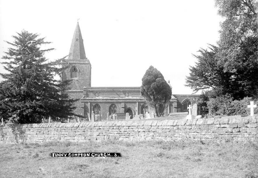 Fenny Compton church of St Clare.  1930s |  IMAGE LOCATION: (Warwickshire County Record Office)