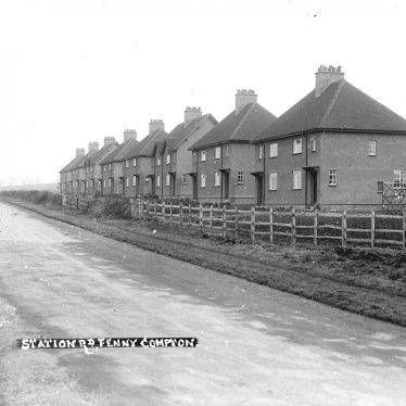 Fenny Compton.  Station Road