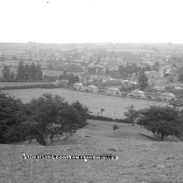 Long Compton.  View of the village