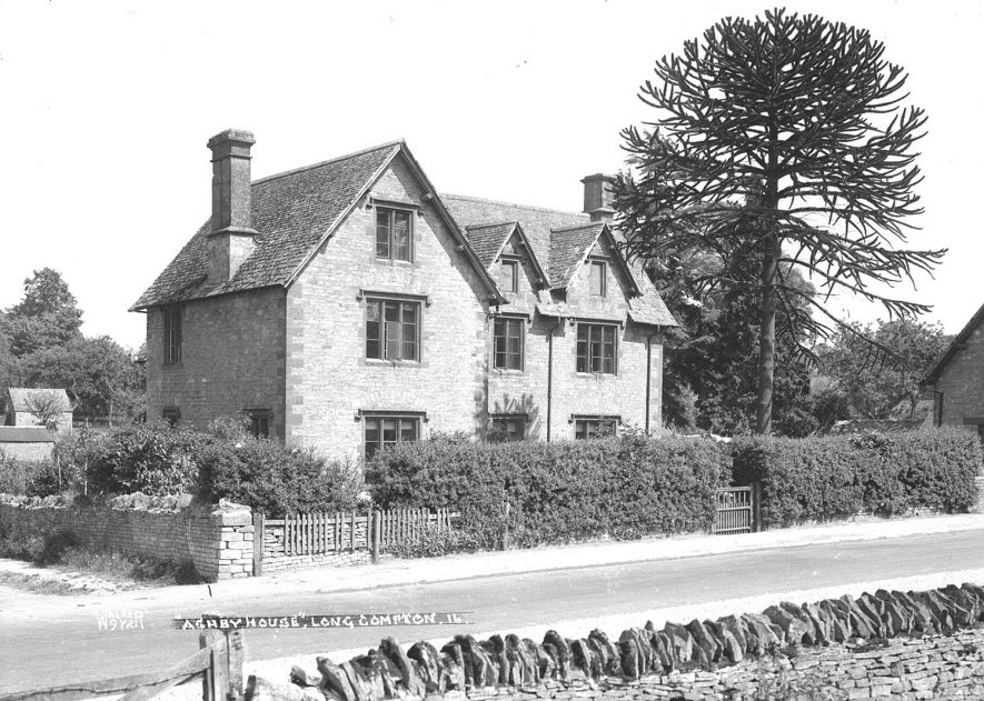 Ashby House, Long Compton.  1930s |  IMAGE LOCATION: (Warwickshire County Record Office)